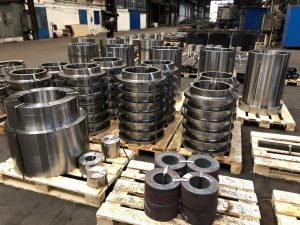 A lot of forged materials from ProMetal