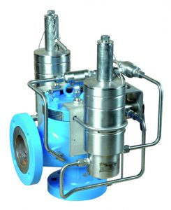 The picture is a pilot operated safety valve