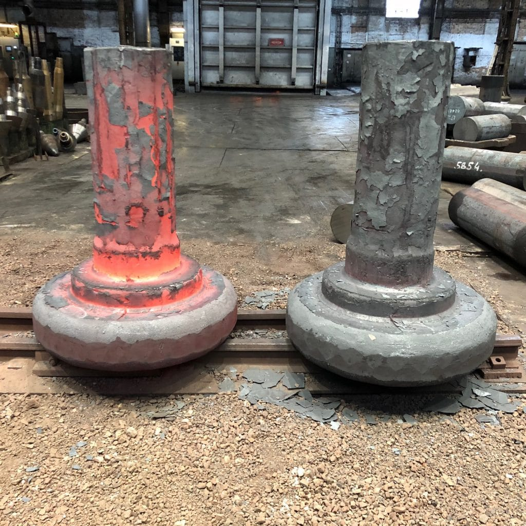 Forged material from ProMetal