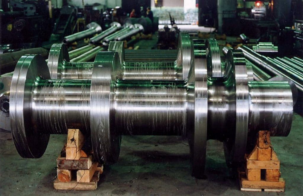 This is forged shafts from ProMetal